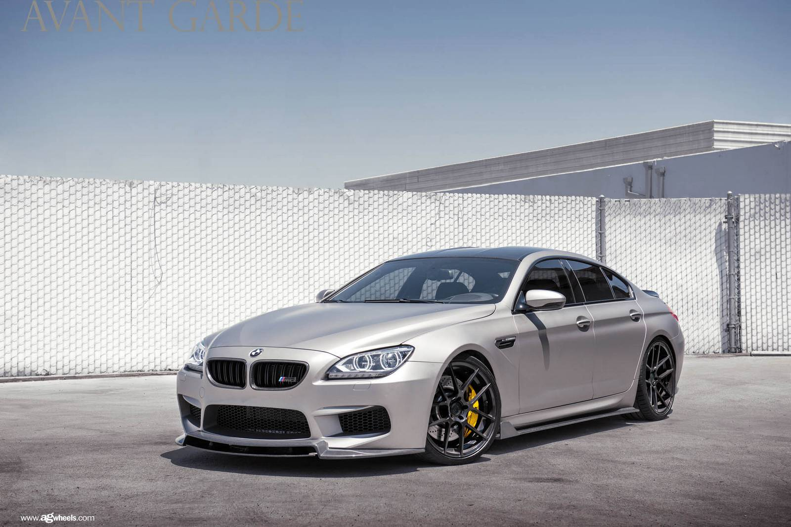 matte grey enlaes egt6 bmw m6 gran coupe gtspirit. Black Bedroom Furniture Sets. Home Design Ideas