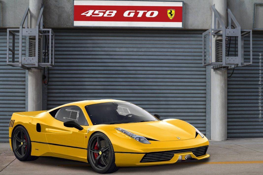 Ferrari 458 GTO Imagined