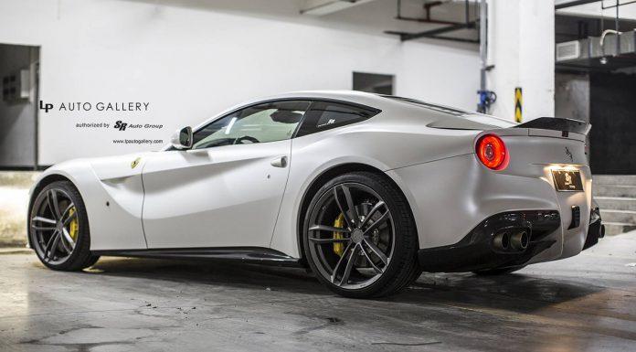 Ferrari F12 with Matte Anthracite PUR Wheels