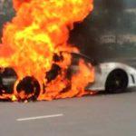 Ferrari F430 Burns to the Ground in Hong Kong