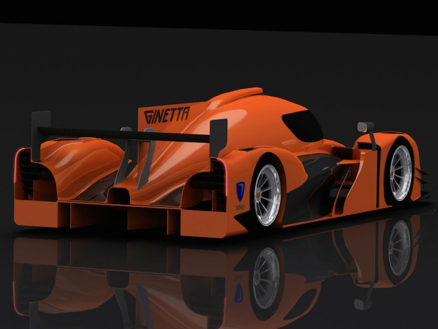 Official: Ginetta-Juno LMP Track Car