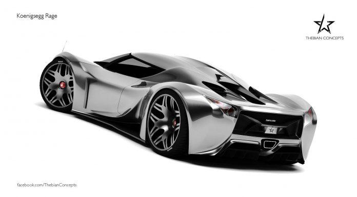 Koenigsegg Rage Concept by Maher Thebian