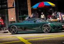 Photo of the Day: Green Koenigsegg Agera S in Hong Kong