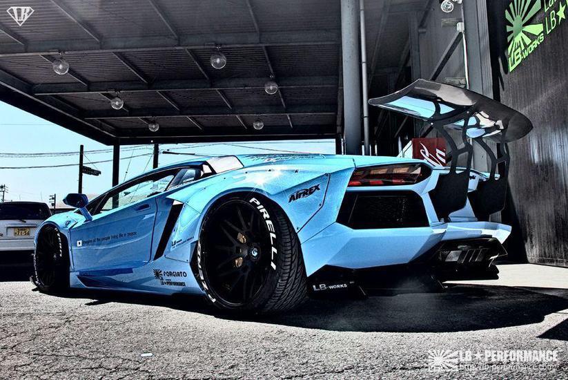 Lamborghini Veneno For Sale >> Widebody Lamborghini Aventador by Liberty Walk Shapes Up For SEMA 2014 - GTspirit