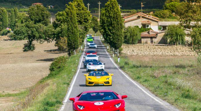 Lamborghini Tuscany Tour
