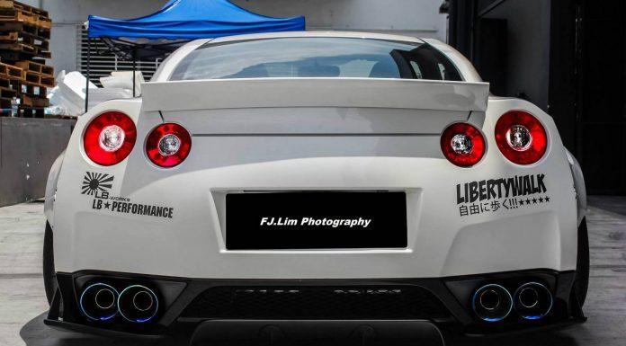 Liberty Walk Nissan GT-R Widebody in Malaysia
