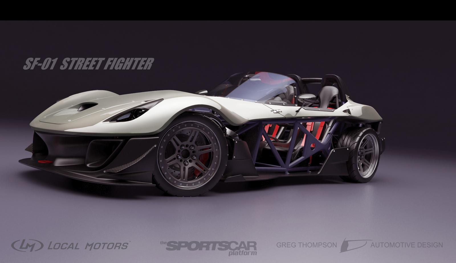 Local Motors Reveals Sports Car Design Gtspirit