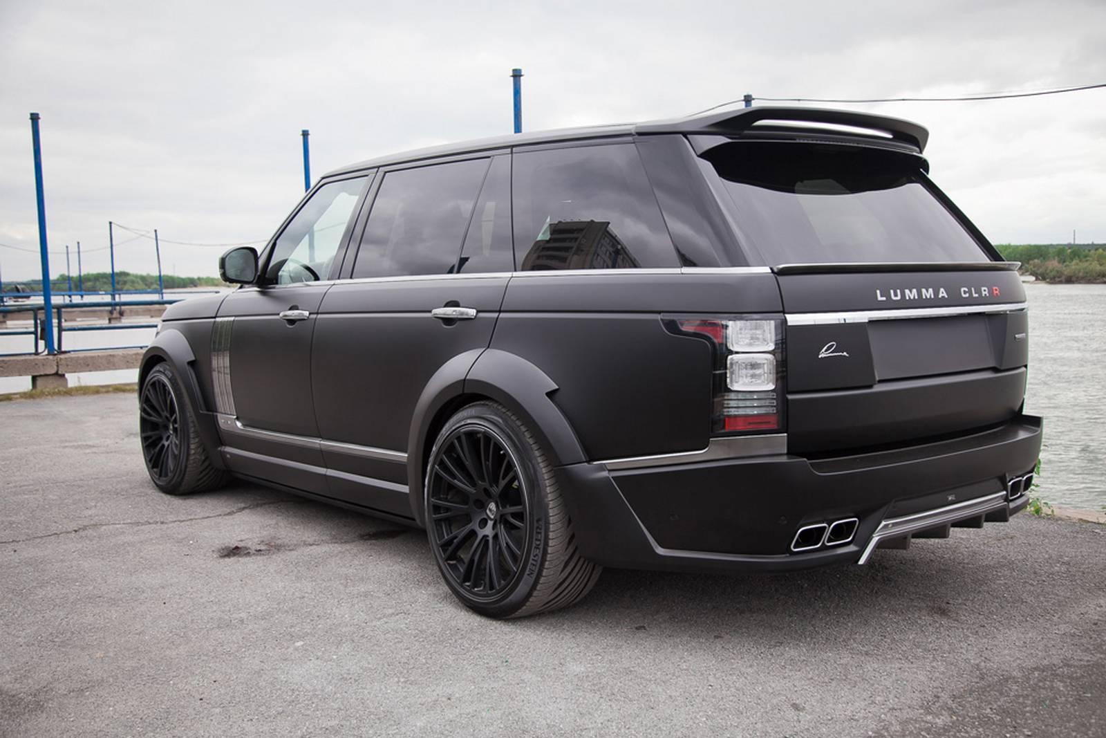 Official Lumma Clr R Range Rover Lwb Gtspirit