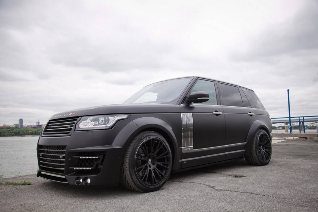Official: Lumma CLR R Range Rover LWB
