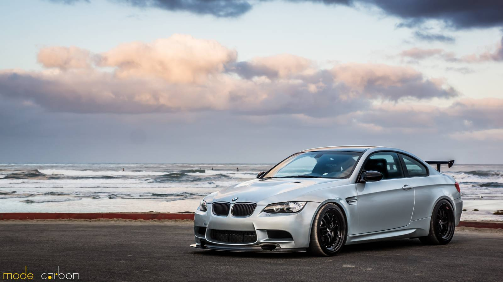 silver stone bmw m3 by mode carbon gtspirit. Black Bedroom Furniture Sets. Home Design Ideas