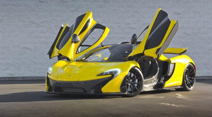 Gallery: Acid Yellow McLaren P1