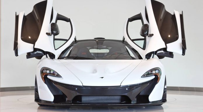 Alaskan Diamond White McLaren P1