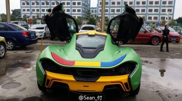 Fashion Faux Pas Befalls Bespoke McLaren P1 in China