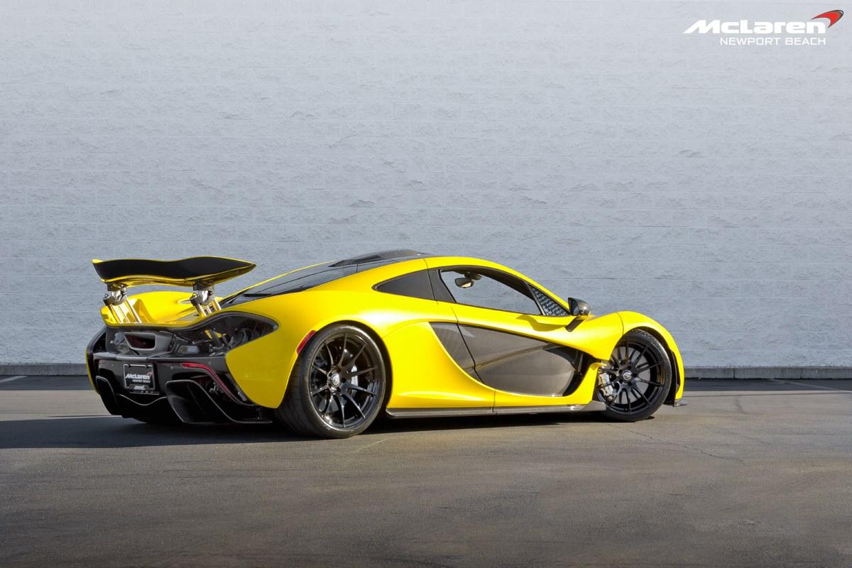 Black Car Paint >> Gallery: Acid Yellow McLaren P1 - GTspirit