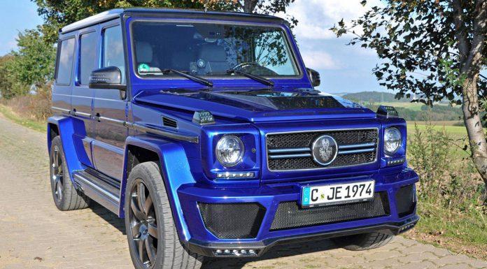 """Mercedes-Benz G-Class """"G-nosaur"""""""