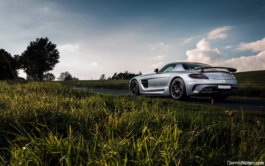 Photo of the day mercedes benz sls amg black series in for Mercedes benz g series