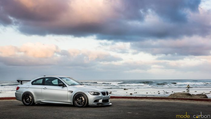 Silver Stone BMW M3 by Mode Carbon
