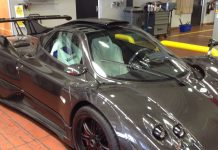 New Pagani Zonda 760 Delivered in Dubai