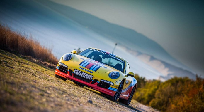 Gallery: Porsche Cars in Martini Racing Stripes in Sochi