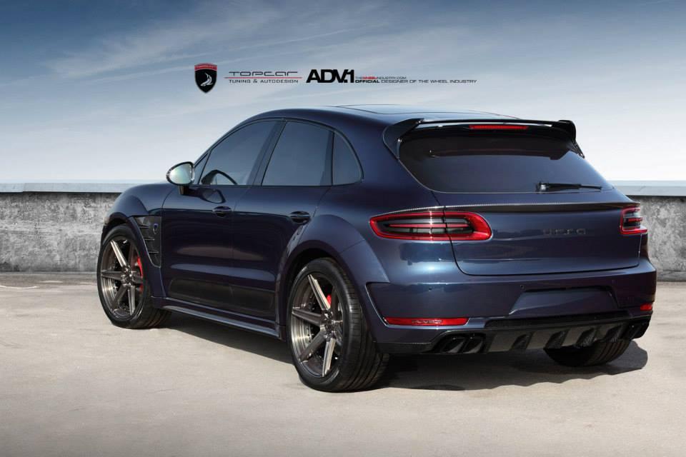 Gallery Dark Blue Porsche Macan By Topcar Gtspirit
