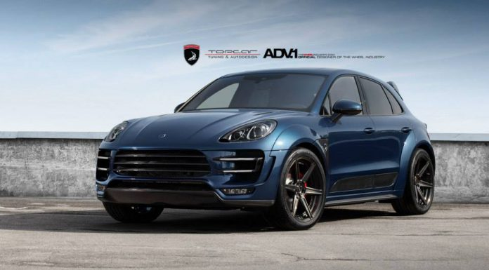 Gallery: Dark Blue Porsche Macan by TopCar