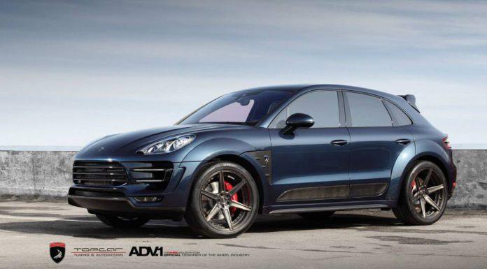 Gallery: Dark Blue Porsche Macan by TopCar