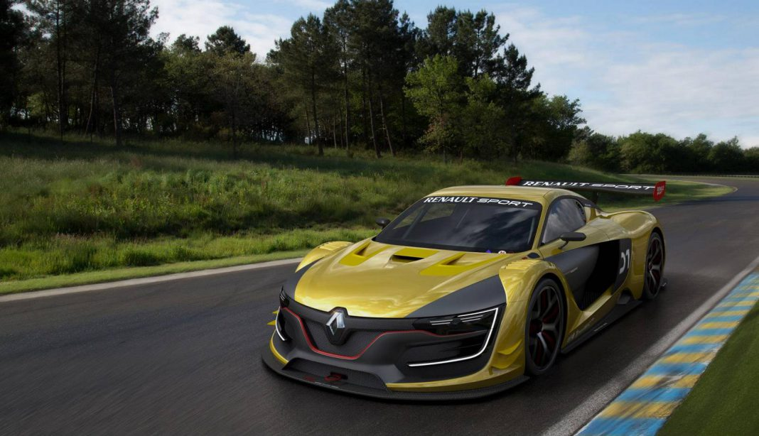 Video: Renault Sport RS 01 Spied Testing at Monza
