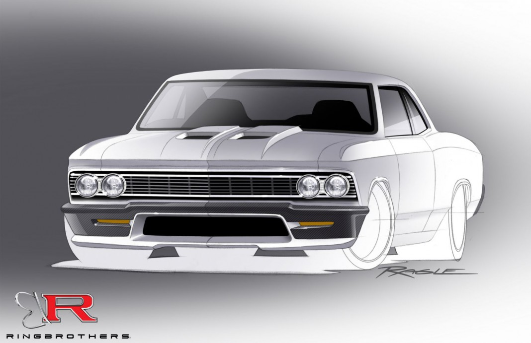 Ringbarothers to Debut 960hp Chevrolet Chevelle at SEMA 2014