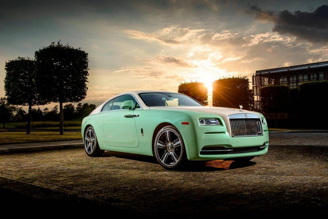 Bespoke Green Rolls-Royce Wraith Built for Michael Fux