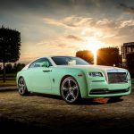 Bespoke Green Rolls-Royce Wraith Built for Michael Fux