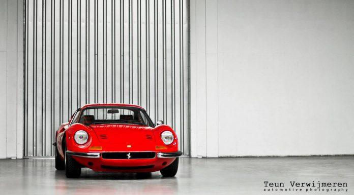Rosso Ferrari 246 Dino GT