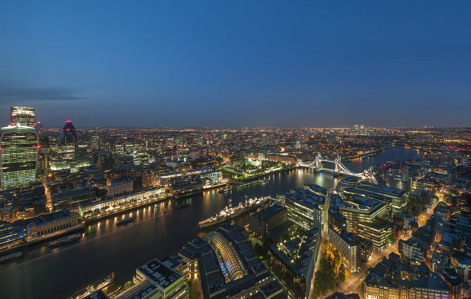 hotels with a view in London Shard