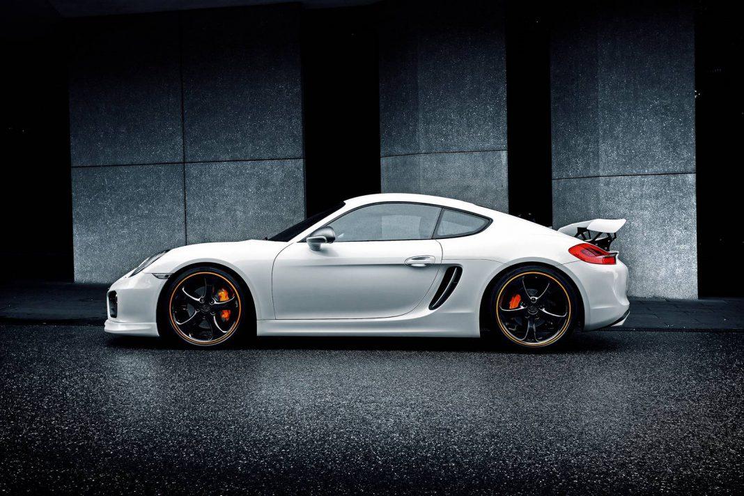 Techart Updates Porsche Cayman Program with new Rear Spoiler