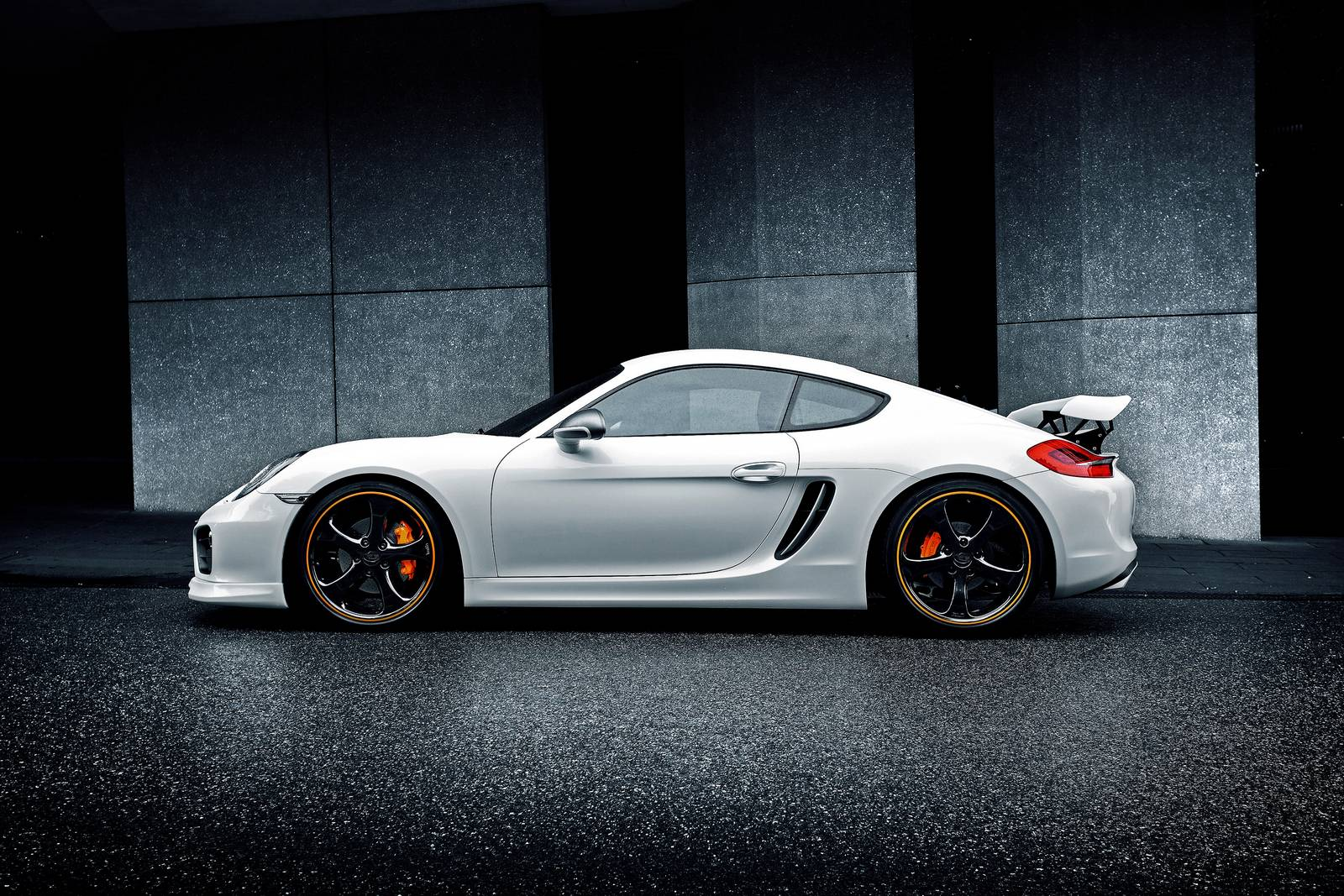 techart updates porsche cayman program with new rear spoiler gtspirit. Black Bedroom Furniture Sets. Home Design Ideas