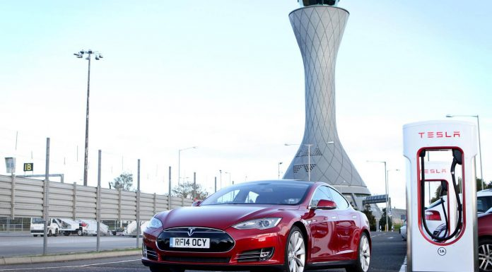 Tesla Opens First Supercharger Station in Scotland