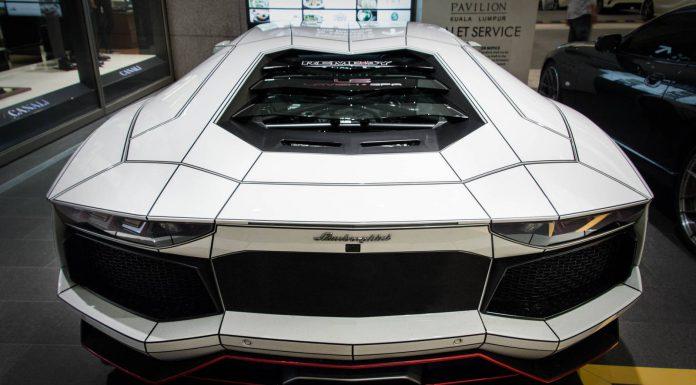 Gallery: Tron Lamborghini Aventador from Malaysia