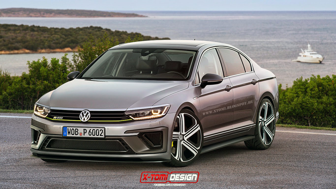 potential volkswagen passat r rendered gtspirit. Black Bedroom Furniture Sets. Home Design Ideas