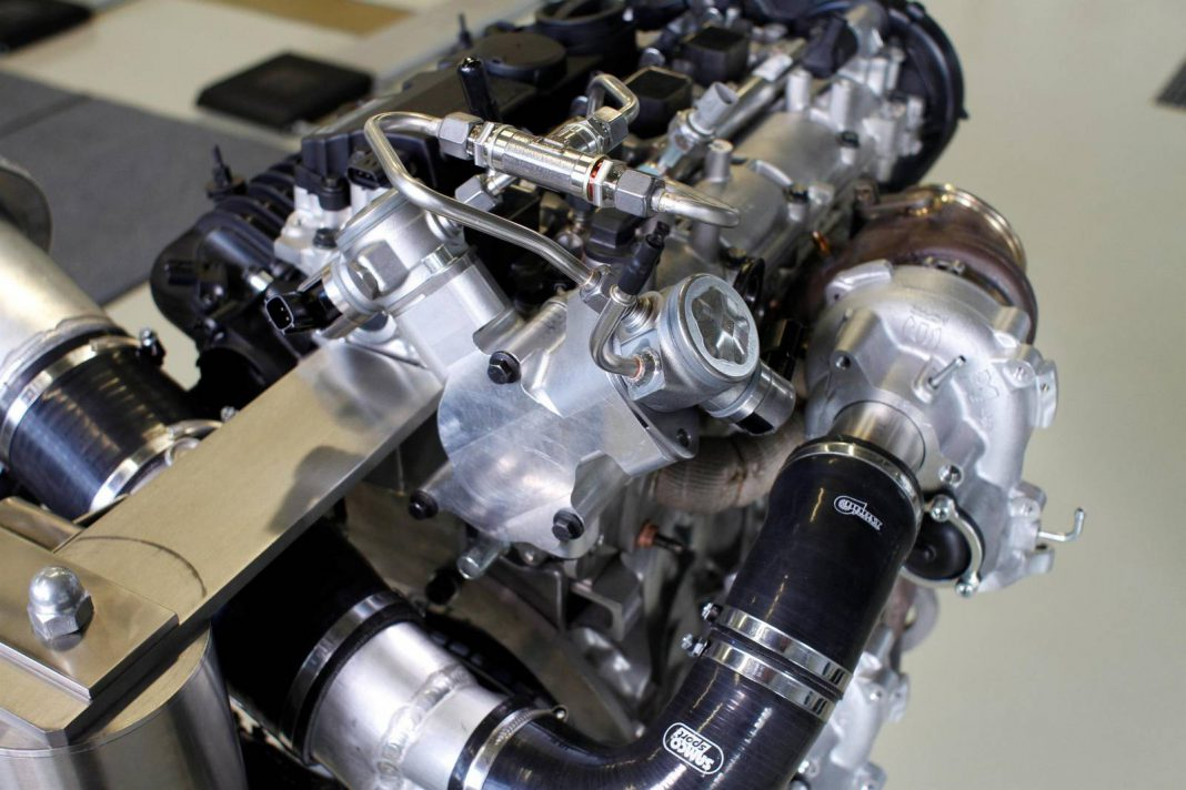 Volvo Reveals New 450hp Four-Cylinder Engine