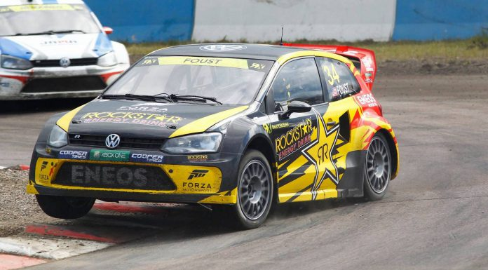 Tanner Foust at World RX Finland