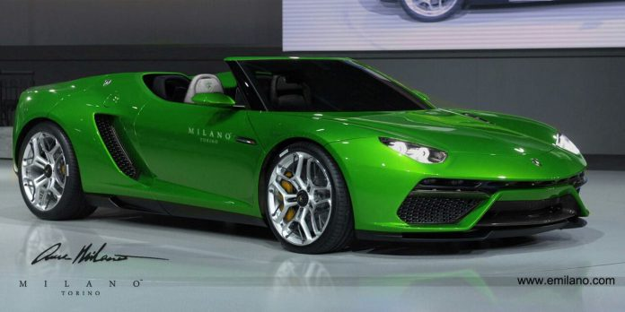 Render: Lamborghini Asterion Spyder by Evren Milano