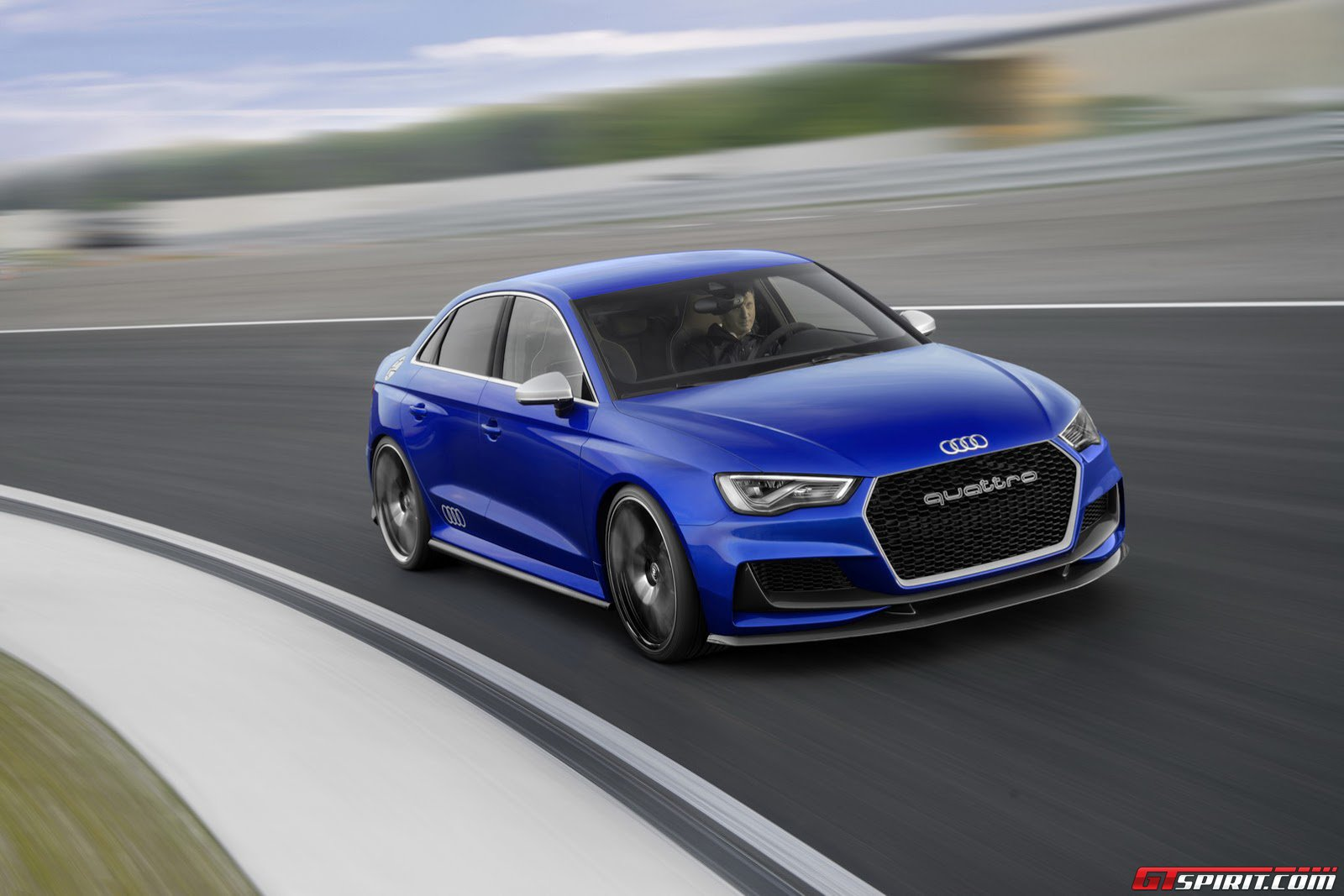 new audi rs3 likely to produce 360hp gtspirit. Black Bedroom Furniture Sets. Home Design Ideas