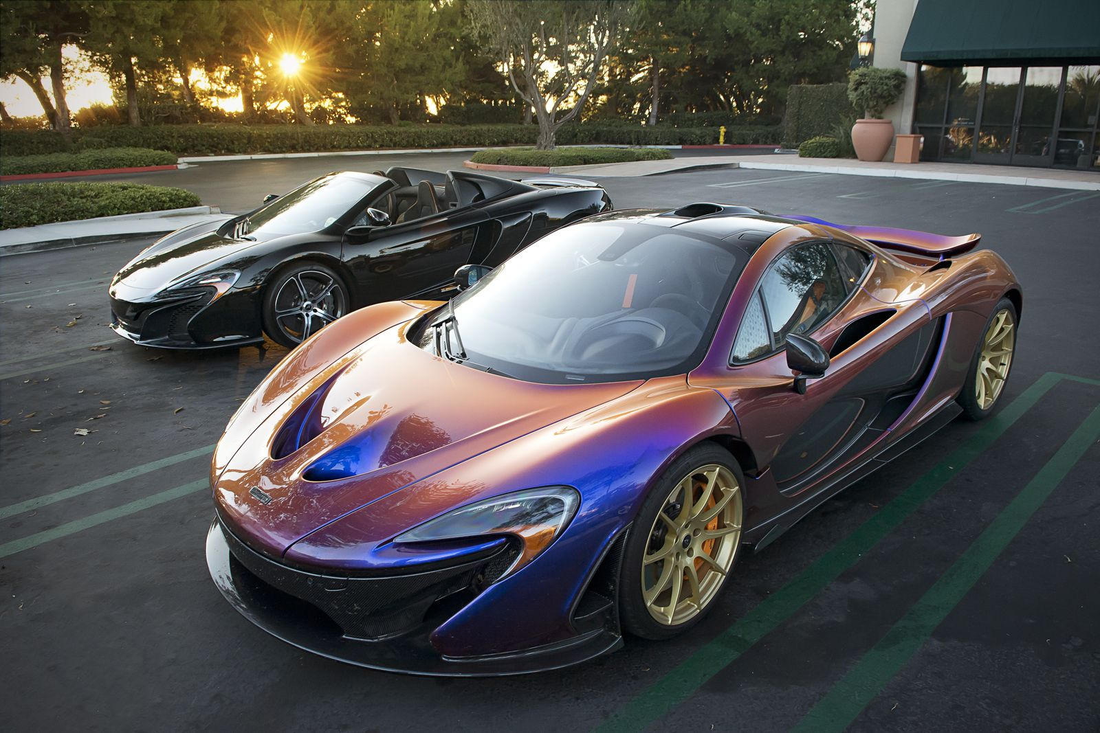 Photo Of The Day Cj Wilson S Insane Mclaren P1 Gtspirit