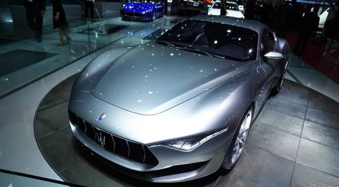 Maserati at Paris Motor Show 2014