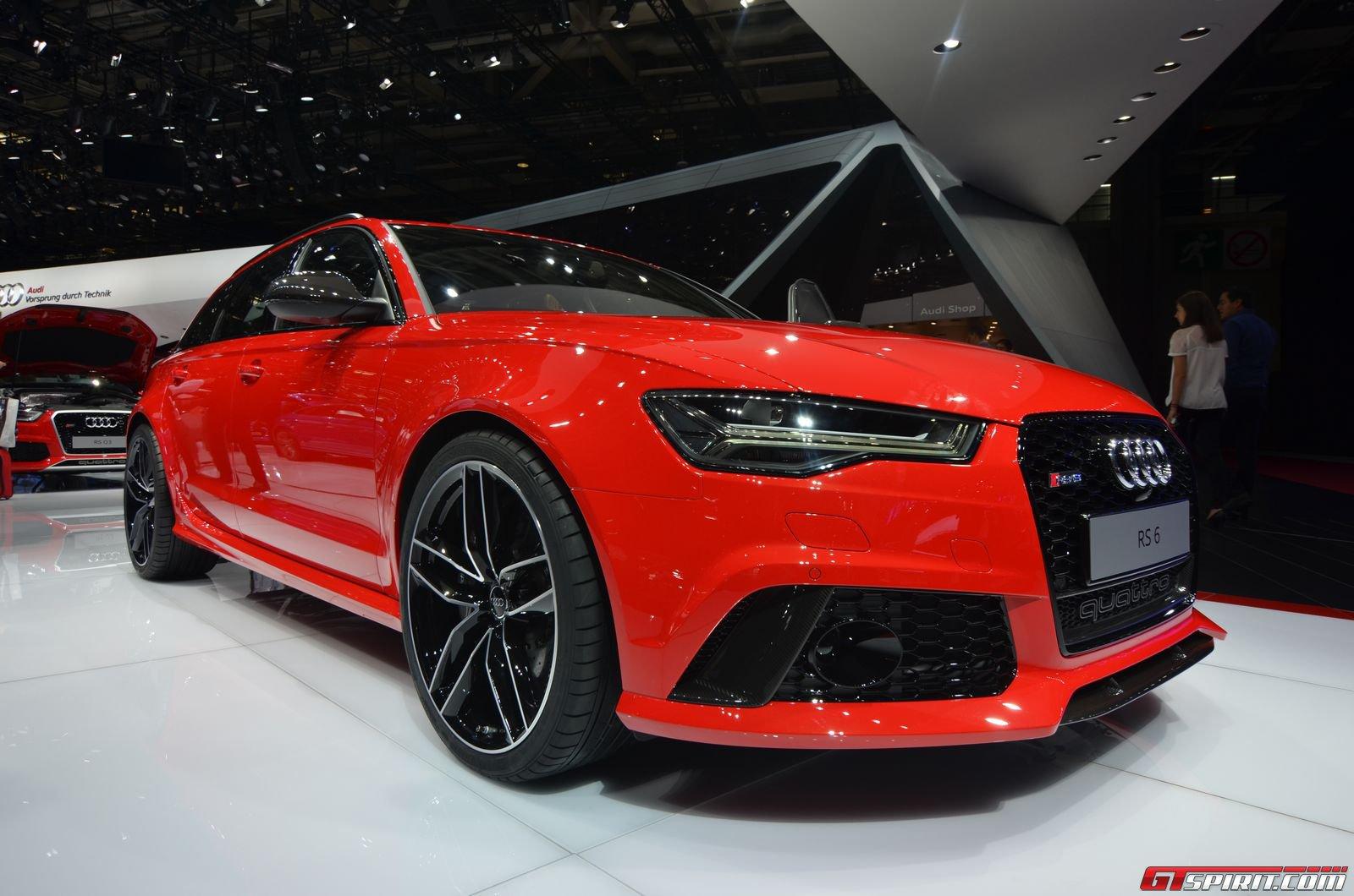 Paris 2014 2015 Audi A6 Rs6 And A6 Allroad Gtspirit