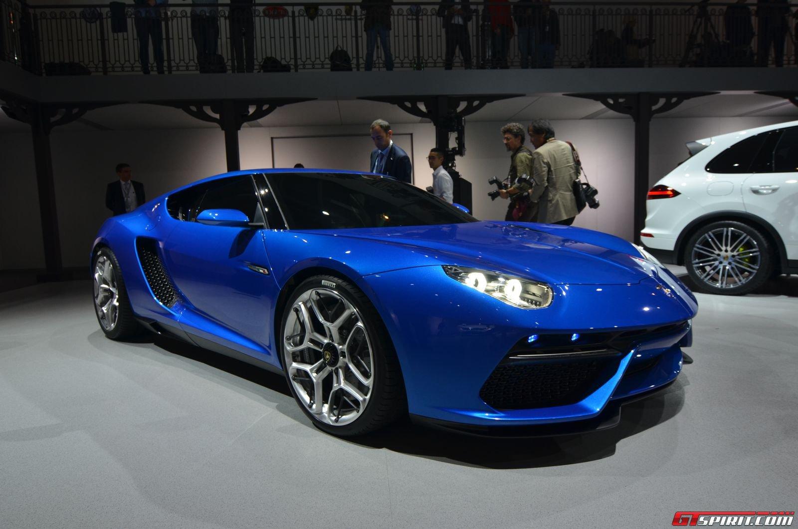 Paris 2014 Lamborghini Asterion Lpi910 4 Hybrid Coupe Concept