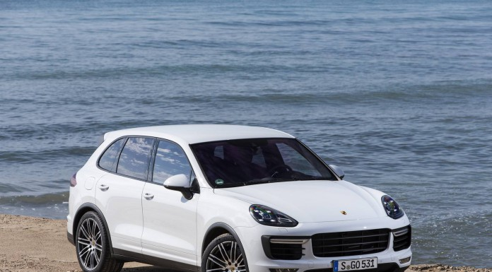 2015 Porsche Cayenne Turbo Carrara White White Metallic