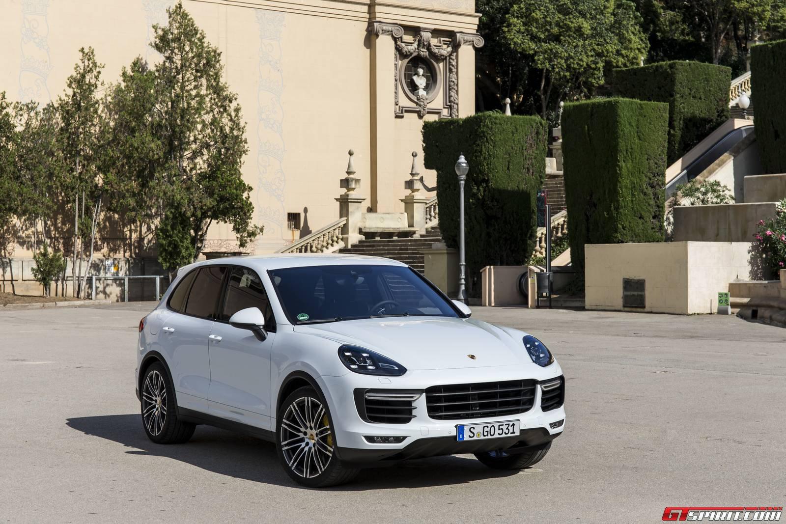 porsche cayenne turbo carrara white metallic - Porsche Cayenne Turbo White