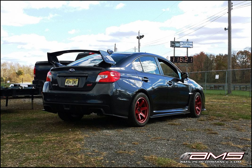 AMS Performance 2015 Subaru STI Runs 9.681 at 147.39MPH