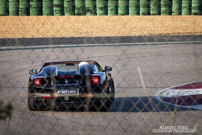 Black Ferrari F12 TRS