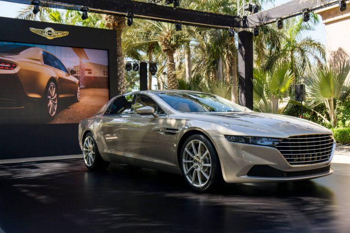 2015 Aston Martin Lagonda Taraf Unveiled in Dubai